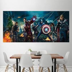 โปสเตอร์ ขนาดใหญ่ กัปตันอเมริกา Captain America Civil War Characters (P-1883)