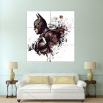 Arkham Knight Batman Block Giant Wall Art Poster