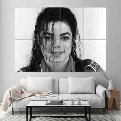 Michael Jackson Block Giant Wall Art Poster (P-1901)