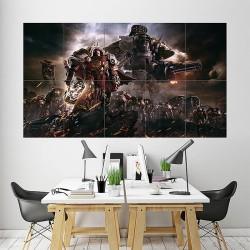 Warhammer 40k Dawn of War III Block Giant Wall Art Poster (P-1907)