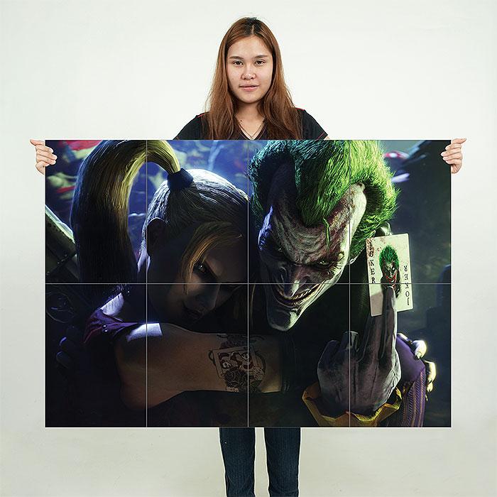 Harley Quinn  Joker Suicide Squad Art Print