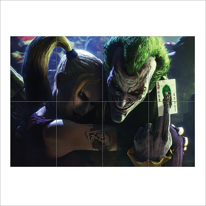 SUICIDE SQUAD THE JOKER HARLEY QUINN GIANT WALL ART PHOTO POSTER