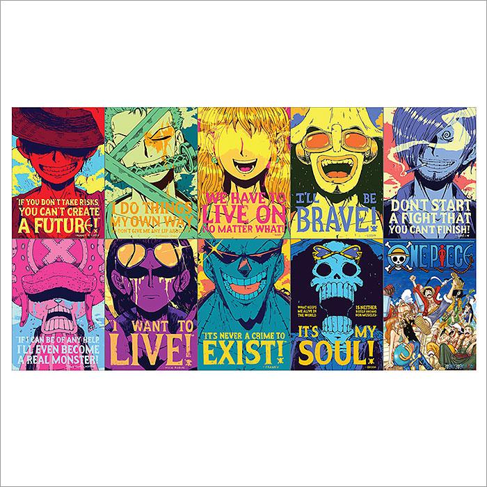 One Piece Anime Zitat Wand Kunstdruck Riesenposter