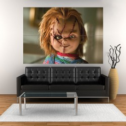 Chucky Child's Play Block Giant Wall Art Poster (P-1924)