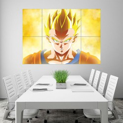 Son Goku Dragon Ball Super Wall Art Poster (P-1936)