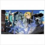 Fullmetal Alchemist Anime Block Giant Wall Art Poster