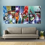 Kamen Rider Block Giant Wall Art Poster