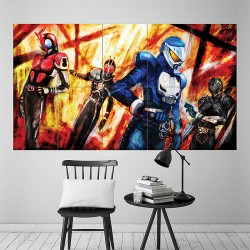 Kamen Rider #1 Block Giant Wall Art Poster (P-1949)