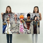 Bleach Characters Block Giant Wall Art Poster