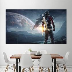 โปสเตอร์ ขนาดใหญ่ เกมส์ Mass Effect Andromeda 2017 Video Game แมส เอฟเฟค (P-1954)
