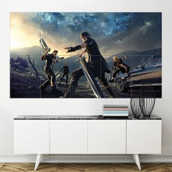 Final Fantasy XV Episode Gladiolus Block Giant Wall Art Poster (P-1959)