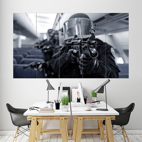 Counter Strike Block Giant Wall Art Poster