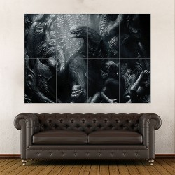 Alien Covenant 2017 Movie Block Giant Wall Art Poster (P-1971)