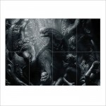 Alien Covenant 2017 Movie Block Giant Wall Art Poster
