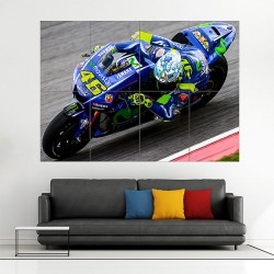 Valentino Rossi The Doctor MotoGP Block Giant Wall Art Poster (P-1974)
