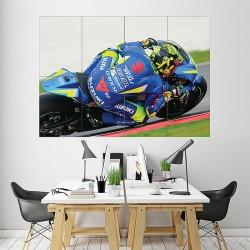 Andrea Iannone ITA Moto GP Block Giant Wall Art Poster (P-1978)