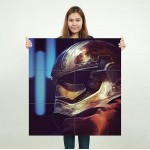 Star Wars Captain Phasma Block Giant Wall Art Poster