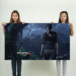 Uncharted 4 Block Giant Wall Art Poster