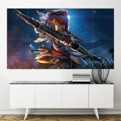 Horizon Zero Dawn Aloy Block Giant Wall Art Poster (P-1998)