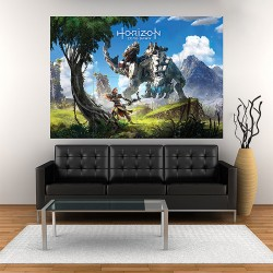 Horizon Zero Dawn Wide Block Giant Wall Art Poster (P-2000)