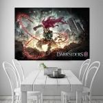 Fury Darksiders Block Giant Wall Art Poster