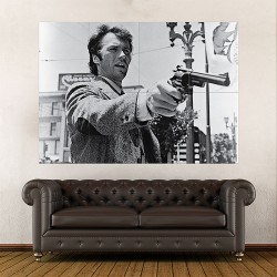 Clint Eastwood Dirty Harry Giant Wall Art Poster (P-2008)