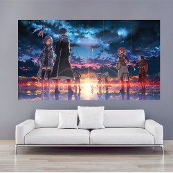 Sword Art Online Game Block Giant Wall Art Poster (P-2012)
