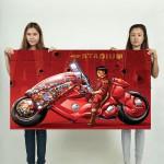 Akira Anime Wand-Kunstdruck Riesenposter