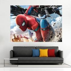 โปสเตอร์ ขนาดใหญ่  สไปเดอร์แมน Spider Man Homecoming 2017 (P-2022)