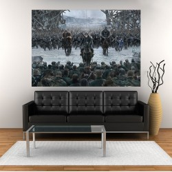 War for the Planet of the Apes  Block Giant Wall Art Poster (P-2023)