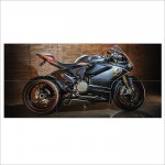 Ducati 1299 Motorcycle Block Giant Wall Art Poster
