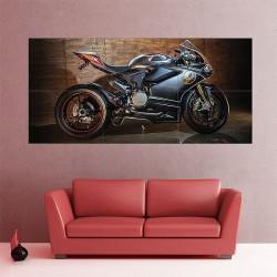 Ducati 1299 Motorcycle Block Giant Wall Art Poster (P-2031)