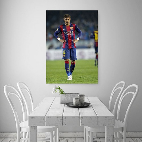 Neymar Jr Barcelona Block Giant Wall Art Poster