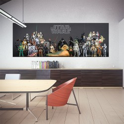 Star Wars Action Fighting  Block Giant Wall Art Poster (P-2040)