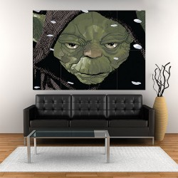 Star Wars Yoda Block Giant Wall Art Poster (P-2041)