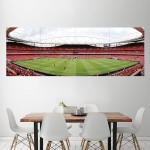 Arsenal FC Emirates Stadium AFC Block Giant Wall Art Poster