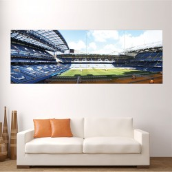 Chelsea FC Stamford Bridge CFC Stadium Block Giant Wall Art Poster (P-2054)