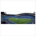 โปสเตอร์ ขนาดใหญ่ แมนยู Man City Etihad Stadium Manchester Mcfc FC