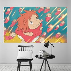 Ponyo Block Giant Wall Art Poster (P-2059)