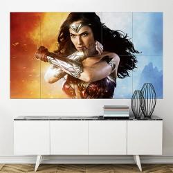 Wonder Woman Block Giant Wall Art Poster (P-2062)