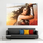 Wonder Woman #1 Block Giant Wall Art Poster