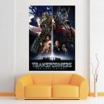 โปสเตอร์ ขนาดใหญ่ Transformers the Last Knight Movies ทรานส์ฟอร์มเมอร์ส
