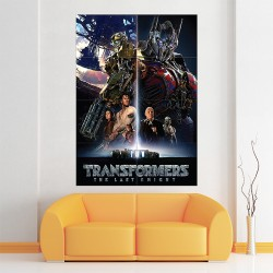 โปสเตอร์ ขนาดใหญ่ Transformers the Last Knight Movies ทรานส์ฟอร์มเมอร์ส (P-2065)
