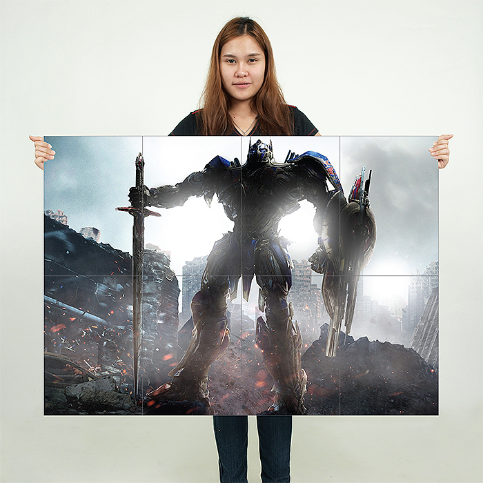 Poster OPTIMUS PRIME Last knight TRANSFORMERS Wall