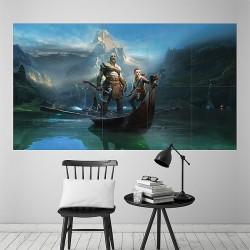 โปสเตอร์ ขนาดใหญ่ God of War Kratos and Atreus (P-2069)
