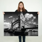 London Bridge Block Giant Wall Art Poster