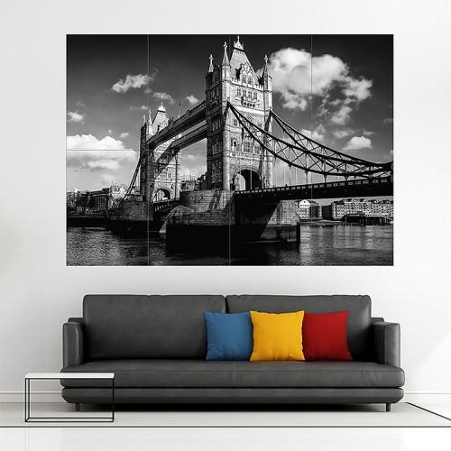 โปสเตอร์ ขนาดใหญ่ London Bridge สะพานลอนดอน