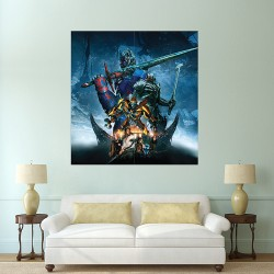 Transformers the Last Knight 2017 Block Giant Wall Art Poster (P-2071)