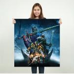 Transformers the Last Knight 2017 Block Giant Wall Art Poster