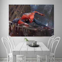 โปสเตอร์ ขนาดใหญ่  Spider Man PS4 สไปเดอร์แมน (P-2072)